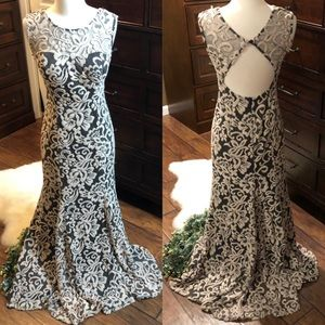 Betsey Adams Lace gown